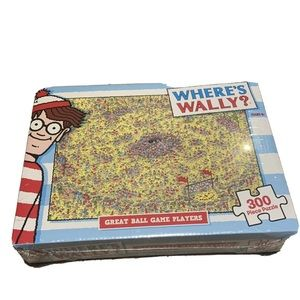 BRAND NEW Where's Wally Puzzle 300 Piece Puzzle